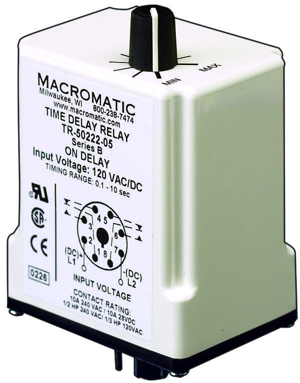 Macromatic Time Delay Relay Wiring on
