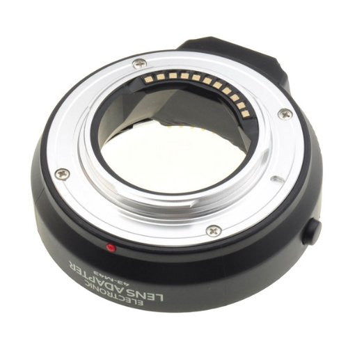 Tanotis - Neewer Plastic body (metal bayonet) AF focus Lens Mount Adapter for 4/3 four thirds lens to micro 4/3 Olympus Pen and Panasonic Lumix cameras, fits Olympus PEN E-P1 P2 P3 P5 E-PL1 PL1s PL2 PL3 PL5 PL6 Panasonic Lumix G1 G2 G10 G3 G5 G6 GF1 GF2 GF3 GF5 GF6