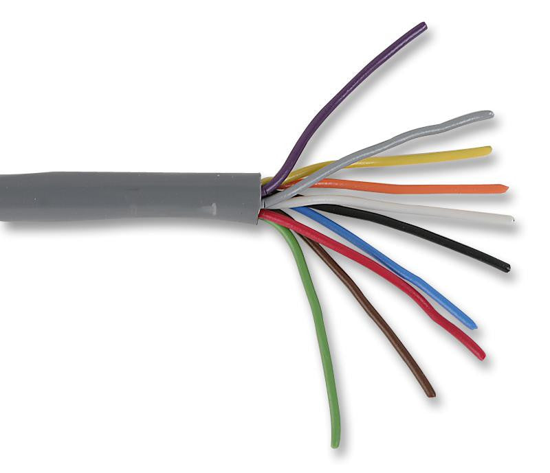 Buy ALPHA WIRE Multicore Unscreened Cable, Control, Grey, 10 Core ...