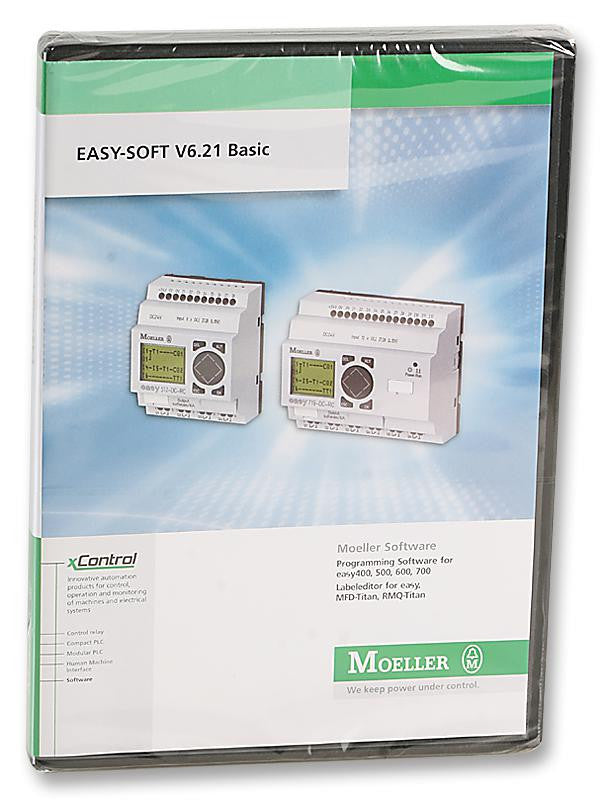 EATON MOELLER EASY-SOFT-BASIC Operating and Programming Software for  easy400/500/600/700 Devices