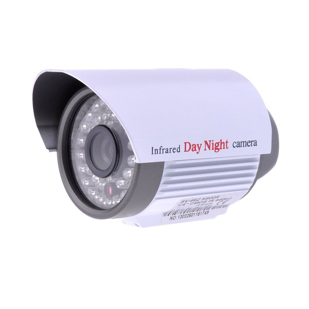 "Tanotis - Neewer Day Night Vision Metal CCTV Security Camera 36 IR LED NTSC Surveillance Camera 1/4"" CMOS 6mm Wide View Angle Lens 800TVL IRCUT Indoor Outdoor Monitoring Camera -Ideal for Home Shop Warehouse Office"
