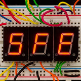 Tanotis - SparkFun 7-Segment Display - LED (Red) - 5