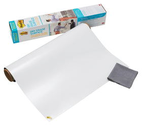 3M DEF4X3 DRY ERASE SURFACE, WHITEBOARD, 4'X3'