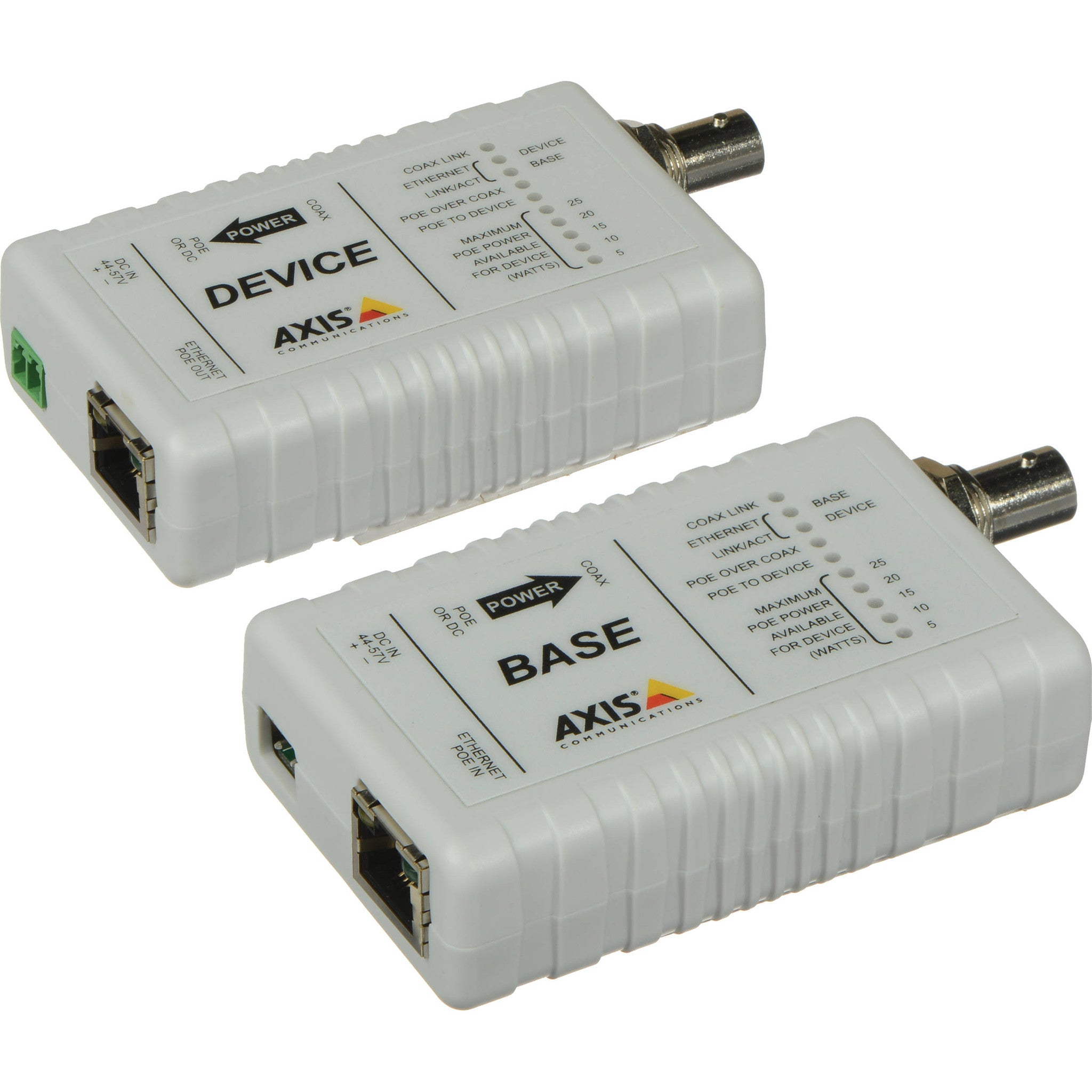 Ethernet PoE-over-Coax Adapter Kit