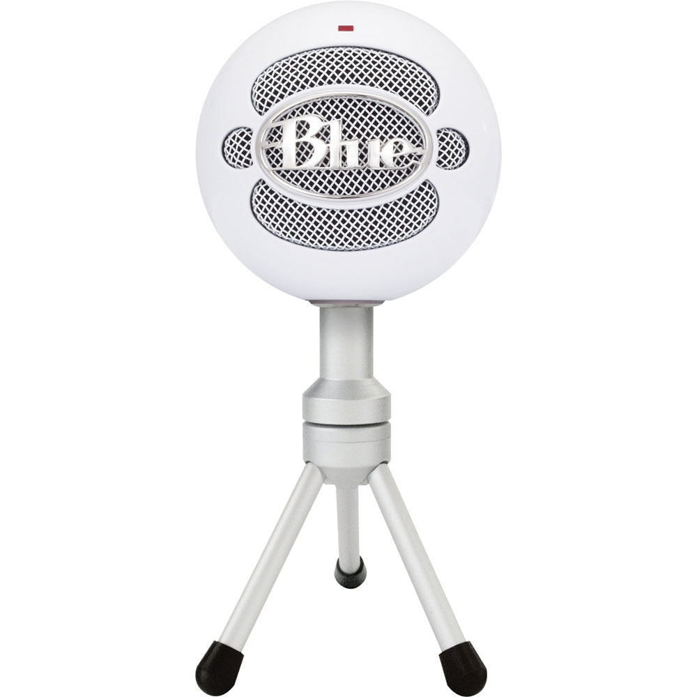 Blue Snowball iCE USB Condenser Microphone with Accessory Pack (Ice)