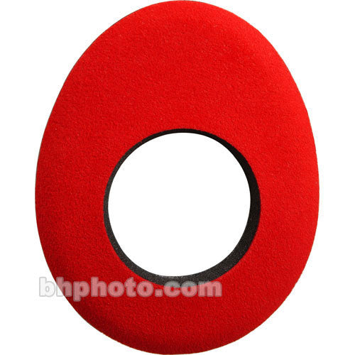 Bluestar Oval Large Microfiber Eyecushion (Red)