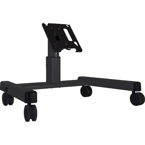 Chief MFQ-UB Medium Confidence Monitor Cart (Black)