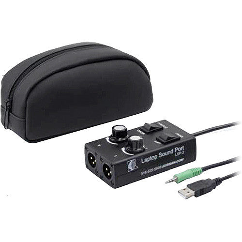 DSAN Corp. LSP-2 Laptop SoundPort - Computer Speaker/Headphone Output Adapter