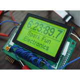 Tanotis - SparkFun Graphic LCD 128x64 STN LED Backlight Monochrome - 6