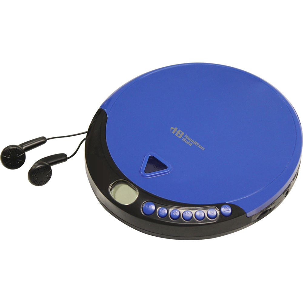 HamiltonBuhl HACX-114 Portable CD Player with 60 Second Anti-Shock Memory