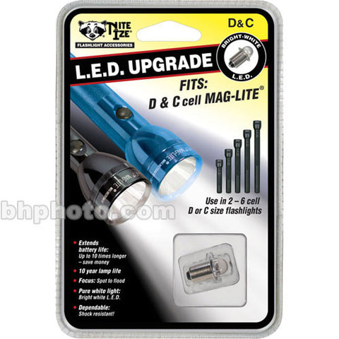 Nite Ize White LED Module Upgrade for C & D Maglite Flashlights