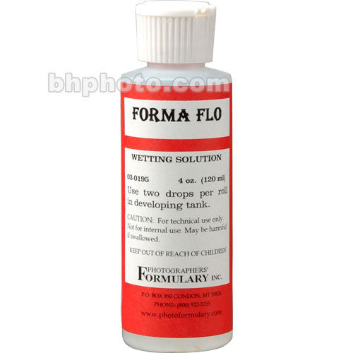 Photographers' Formulary Formaflo Solution for Black & White Film - 4 Oz.
