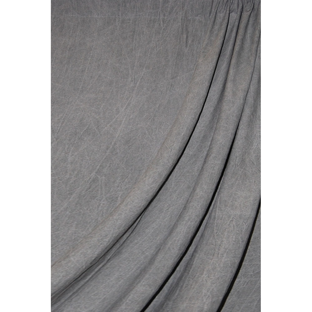 Savage Dark Gray Washed Muslin Backdrop (10 x 24')