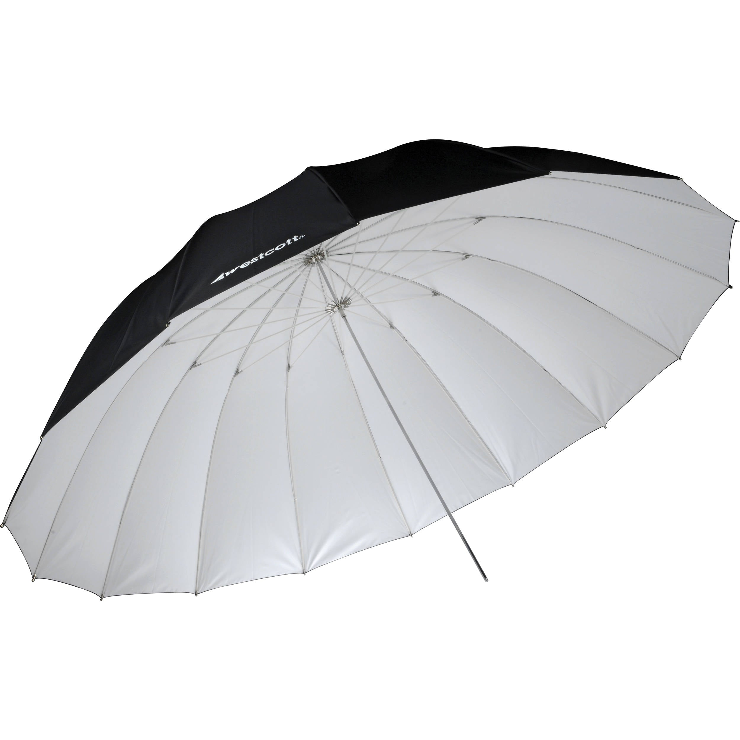 Westcott 7' Umbrella (White / Black)