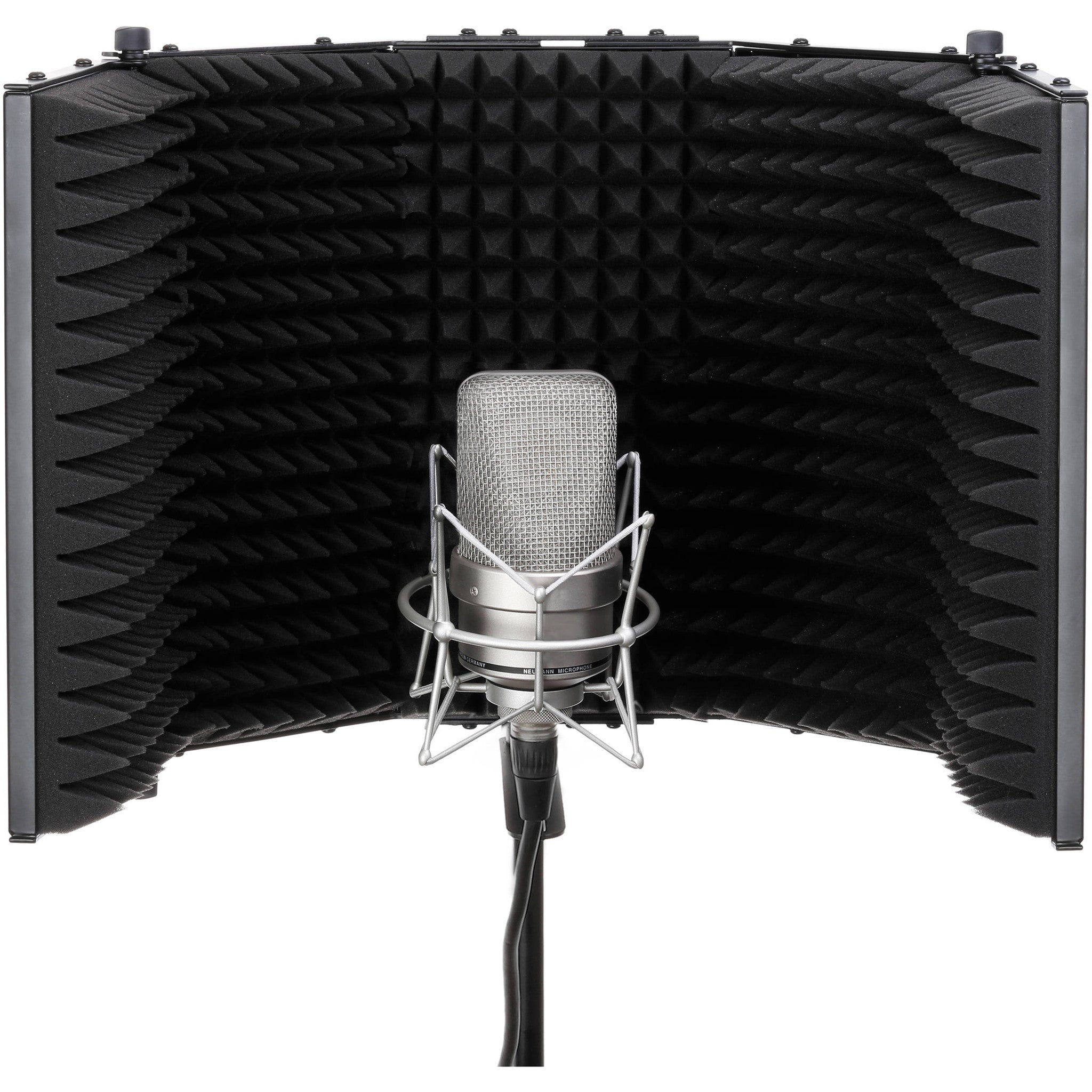 Acoustic Reflection Filter Mic Stand And Headphone Hook
