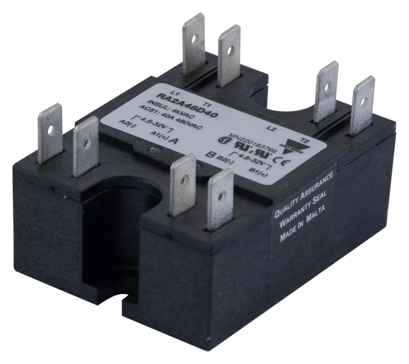 Products Tagged Solid State Relays Tanotis Relay 230vac Carlo Gavazzi Ra2450la06 50a 10 90v Panel