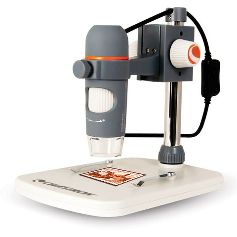 Celestron Handheld Digital Microscope Pro (Gray)