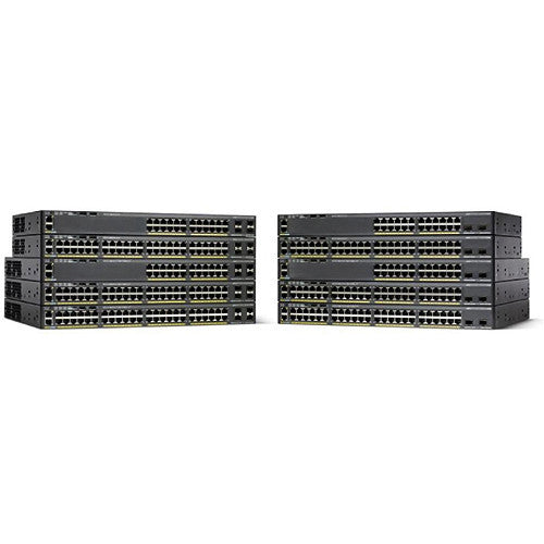 Cisco WS-C2960X-48TS-L Catalyst 2960-X 48-Port Gigabit Ethernet Switch