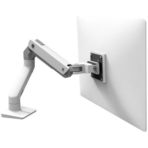 Ergotron HX Desk Monitor Arm for Displays up to 42 lb (White)