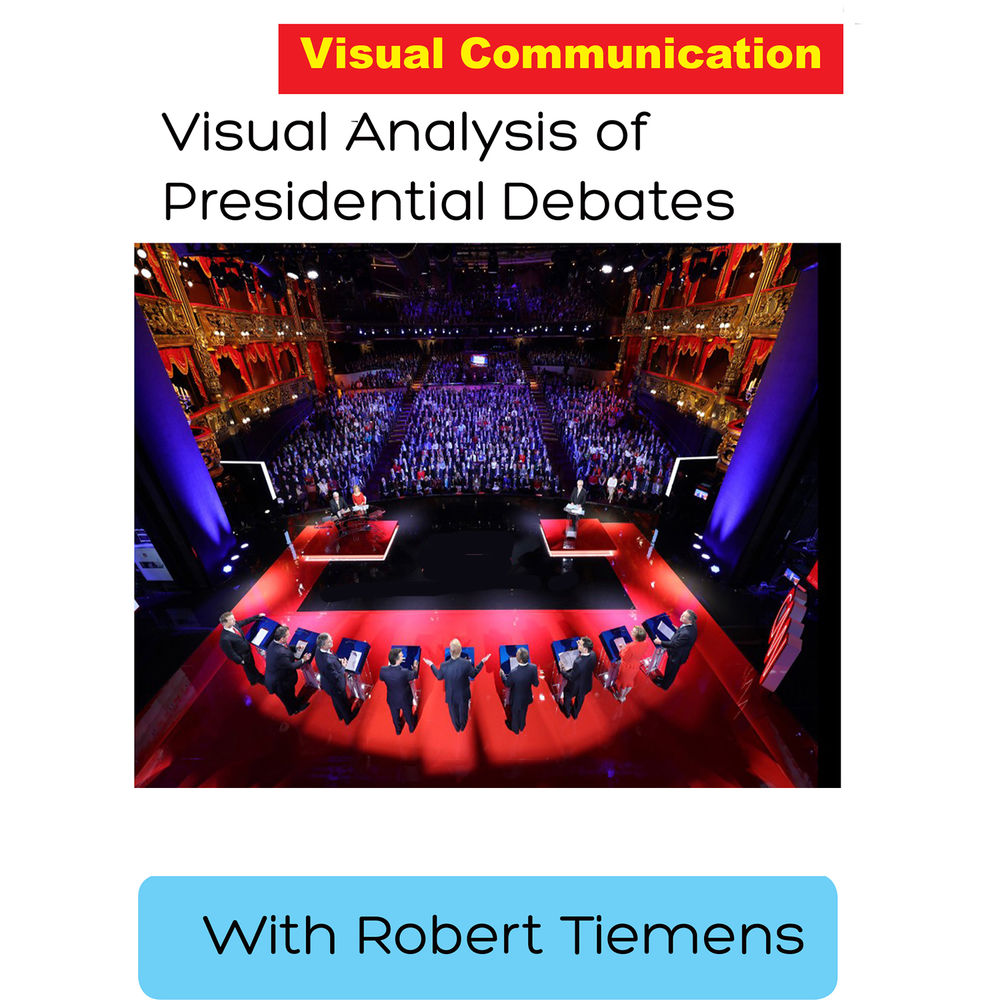 First Light Video DVD: Visual Analysis of Presidential Debates with Robert Tiemens