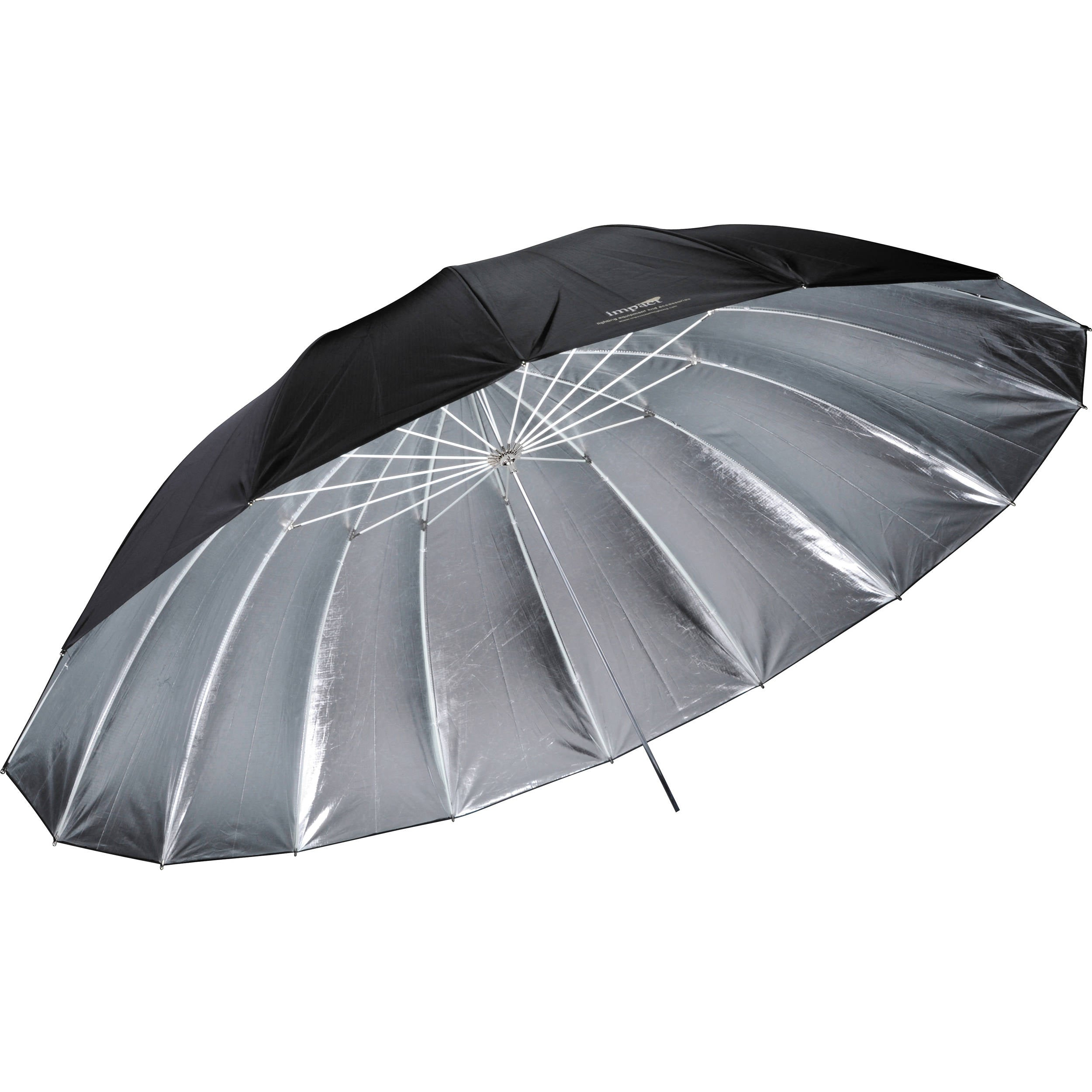 Impact 7' Improved Parabolic Umbrella (Silver)
