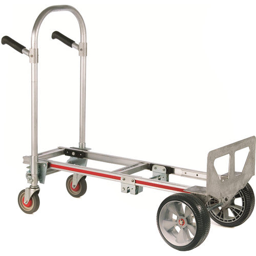 "Magliner Gemini Jr. Convertible Hand Truck with 10 x 3.5"" Microcellular Foam Wheels"