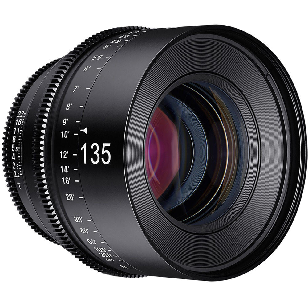 Rokinon Xeen 135mm T2.2 Lens with MFT Mount