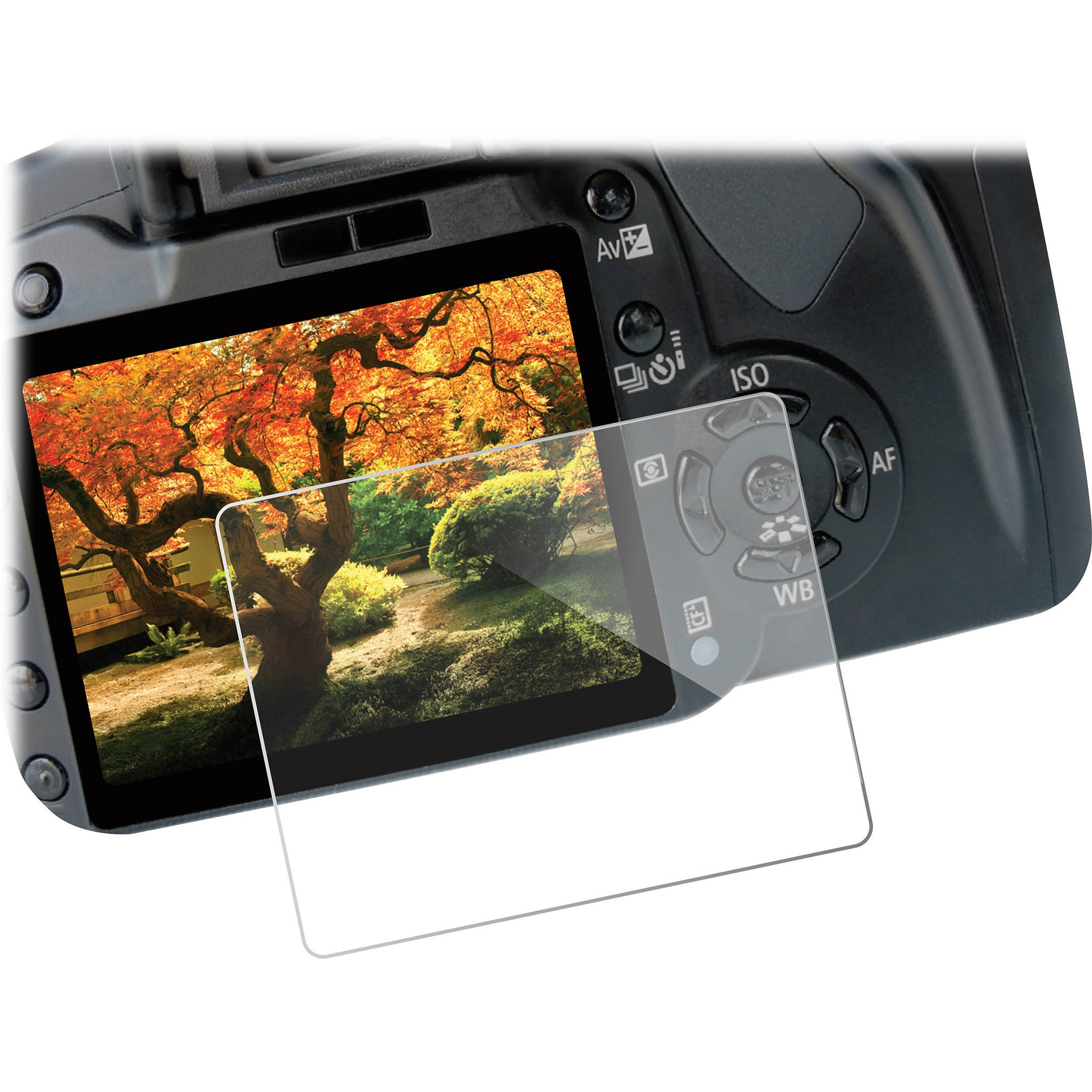 Vello LCD Screen Protector Ultra for Canon 70D & 80D Camera