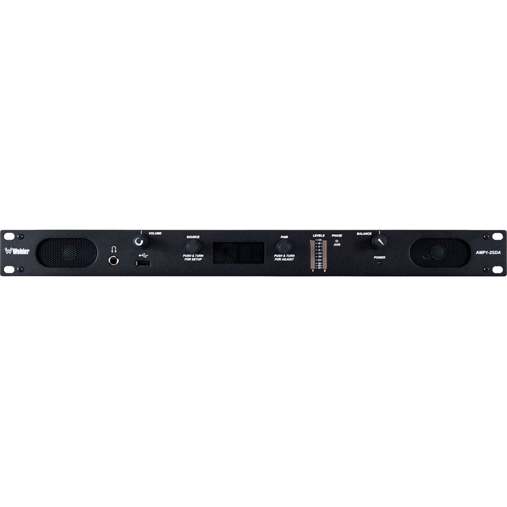 Wohler 2-Channel 3G/HD/SD-SDI, AES, & Analog Audio Monitor