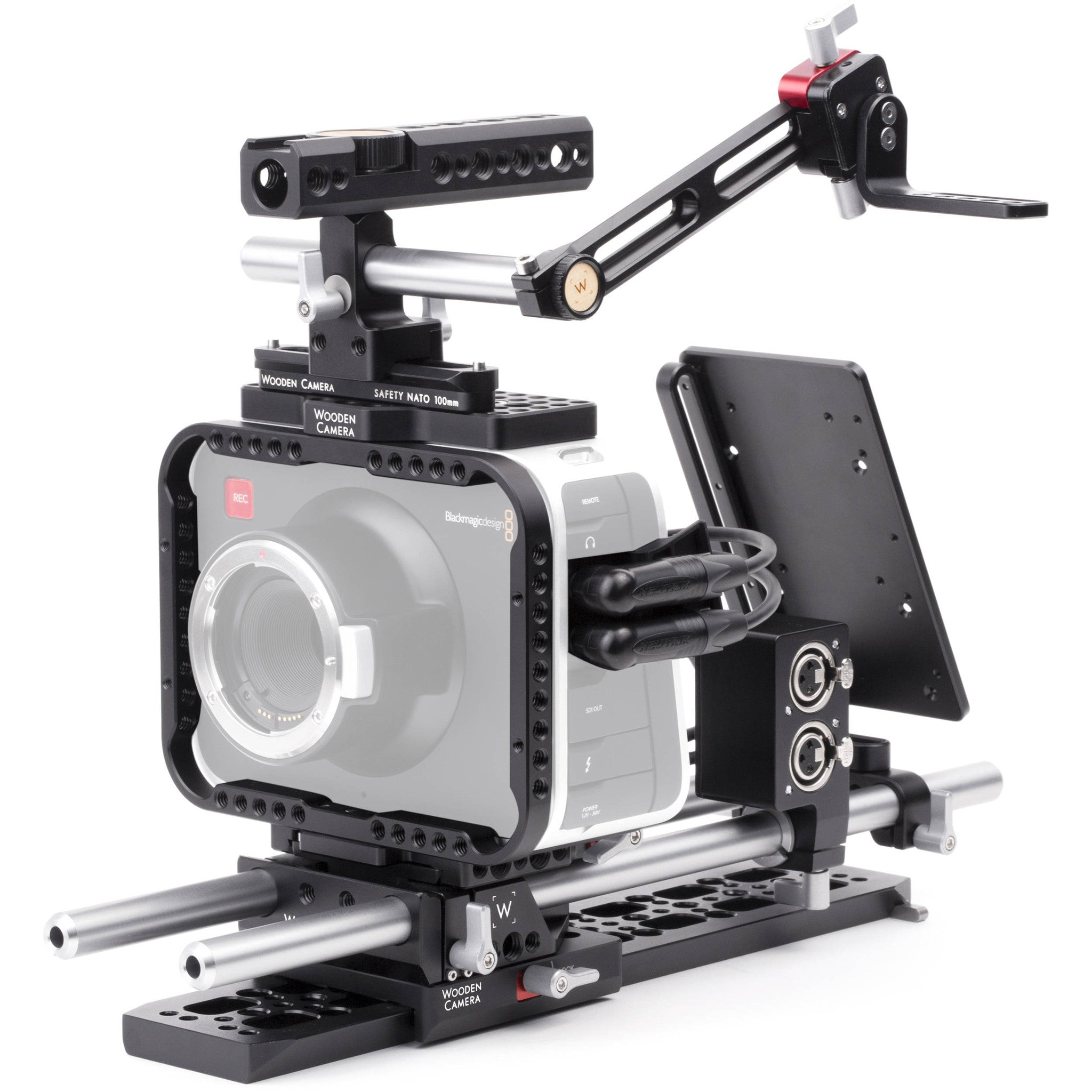 Wooden Camera Professional Accessory Kit for Blackmagic Cinema Camera