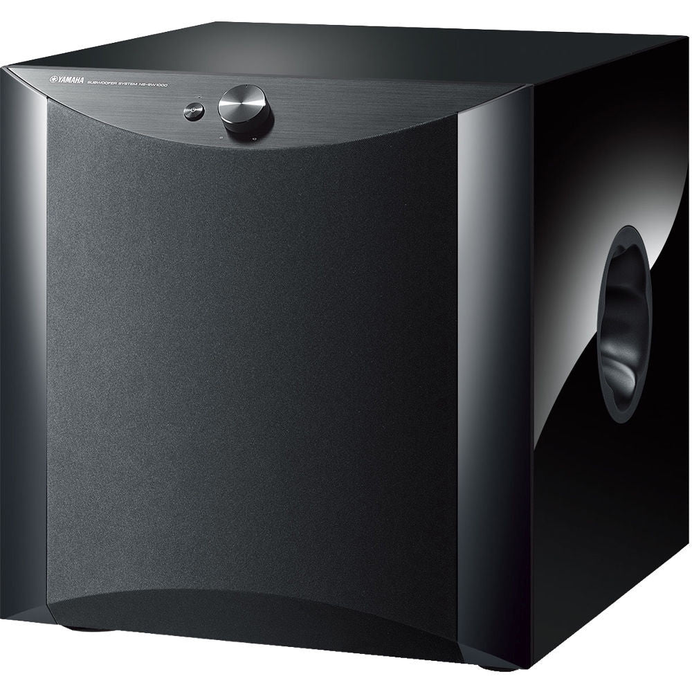 "Yamaha NS-SW1000PN 12"" 1,000W Powered Subwoofer (Piano Black)"
