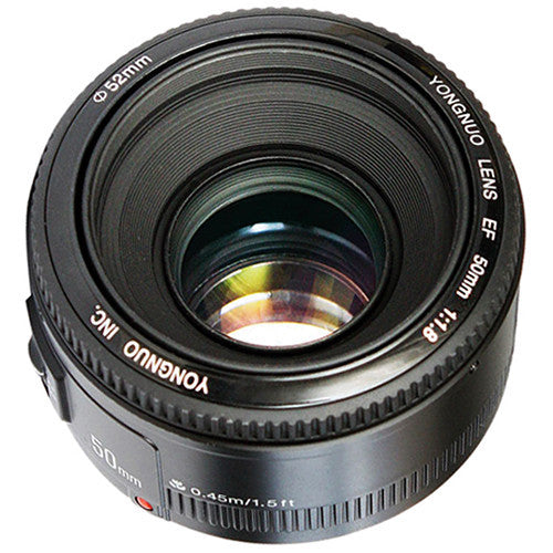 Yongnuo YN 50mm f/1.8 Lens for Canon EF