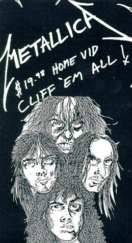 Metallica - Cliff 'Em All [VHS]