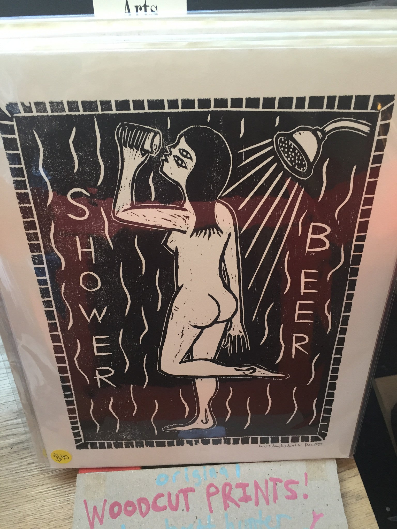 Brett Hunter Wood Cut Prints