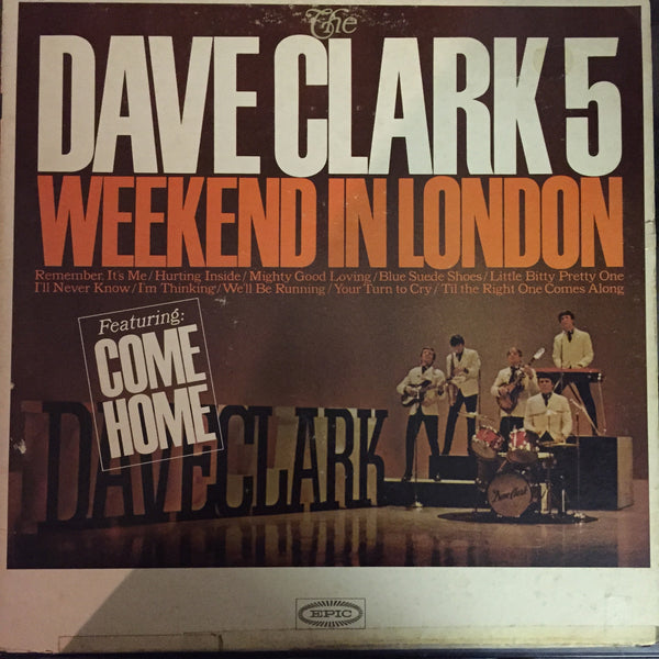 The Dave Clark Five - Weekend in London LP (LN 24139)