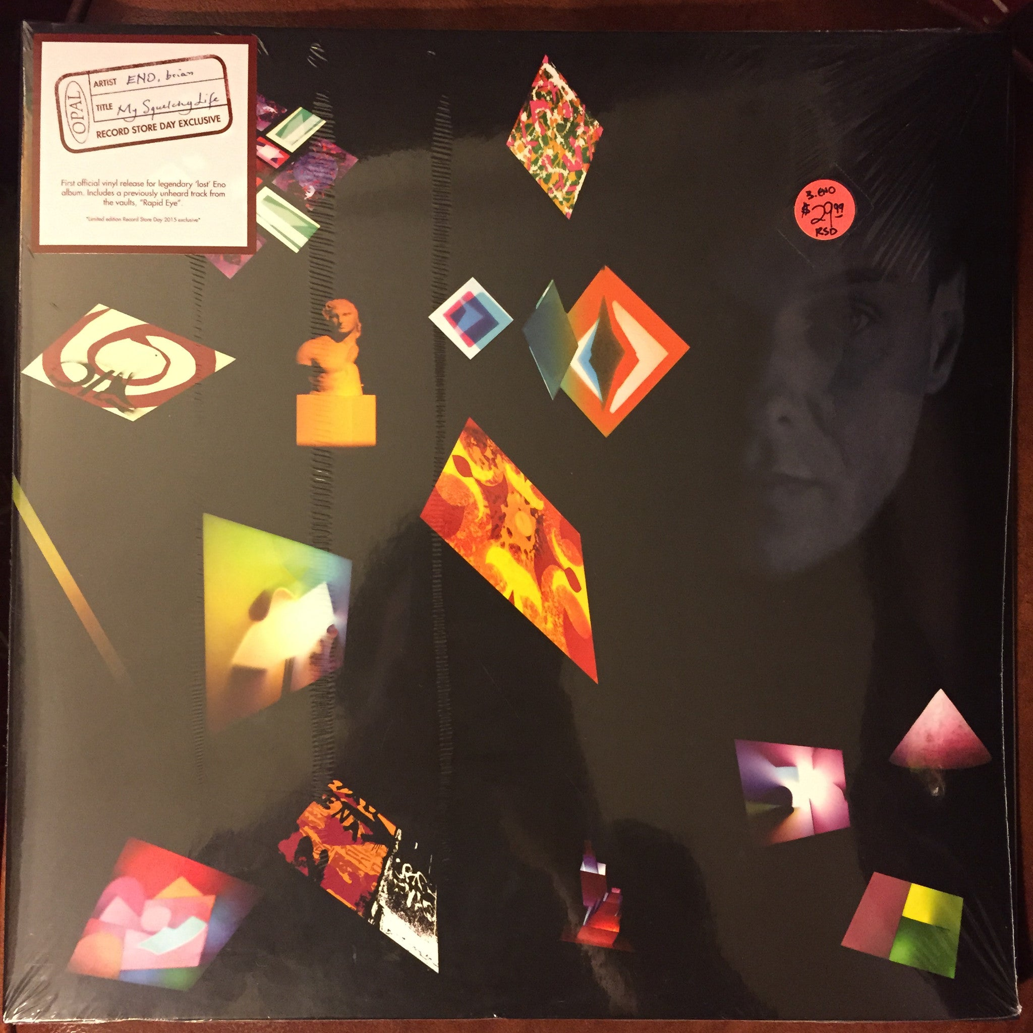 Brian Eno - My Squelchy Life 2xLP - RSD 2015 NEW SEALED