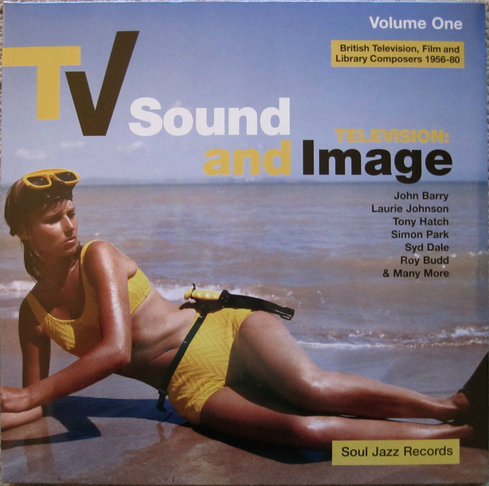 TV Sound & Image VOL. 1: British TV Film and Library Composers 1956-80 2LP - NEW/SEALED