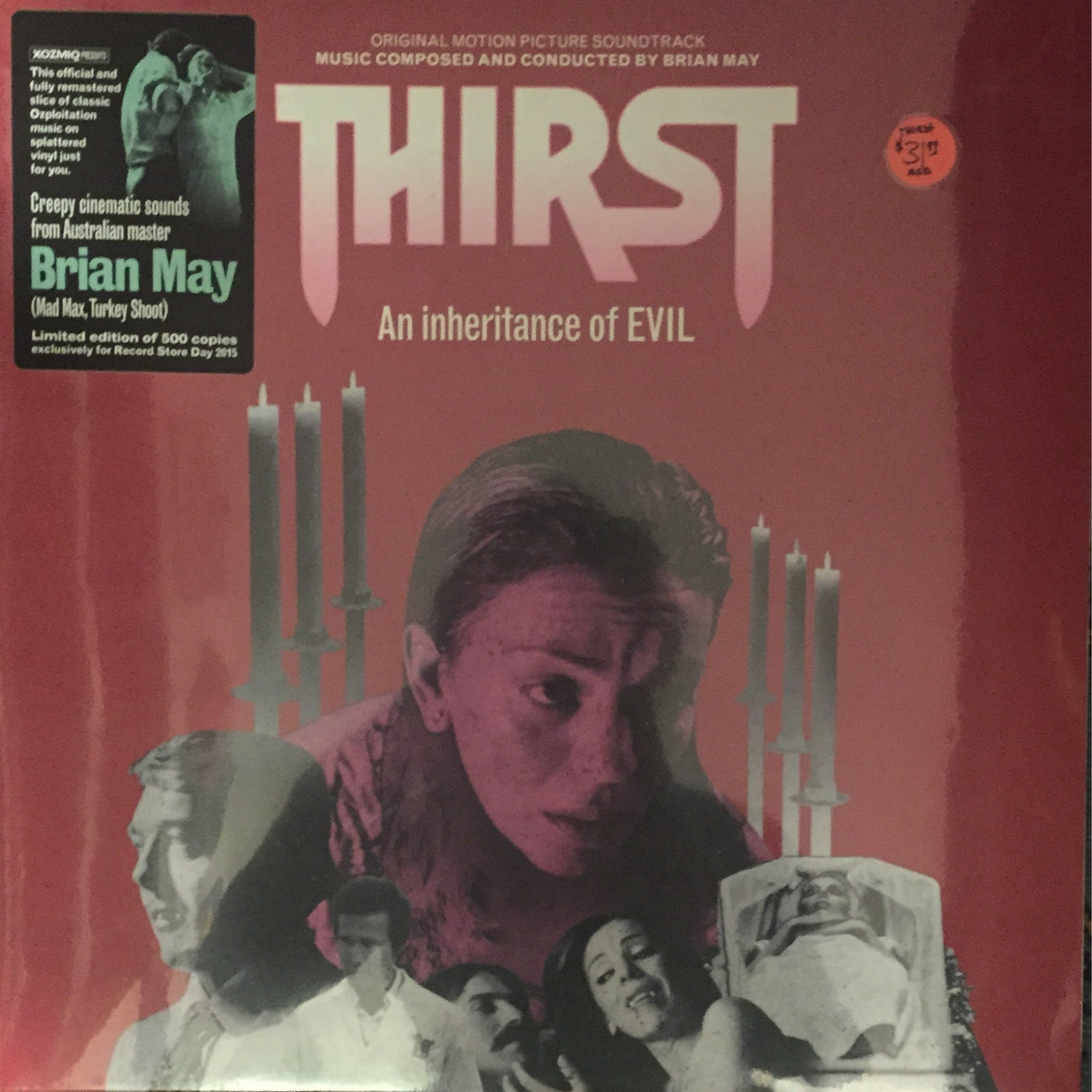 OST - THIRST An Inheritance Of EVIL LP - 500 Copies Pressed!