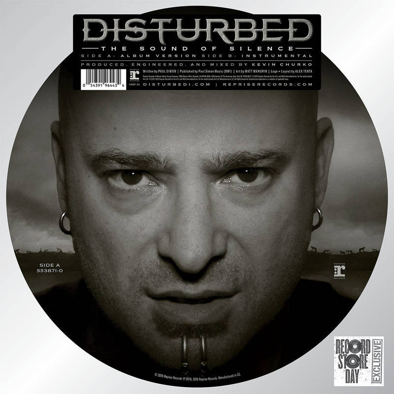 "Disturbed - The Sound of Silence 12"" Picture Disc"