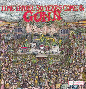 Gonn - Time Travel: 50 Years Come & GONN 2xLP RSD BF 2016