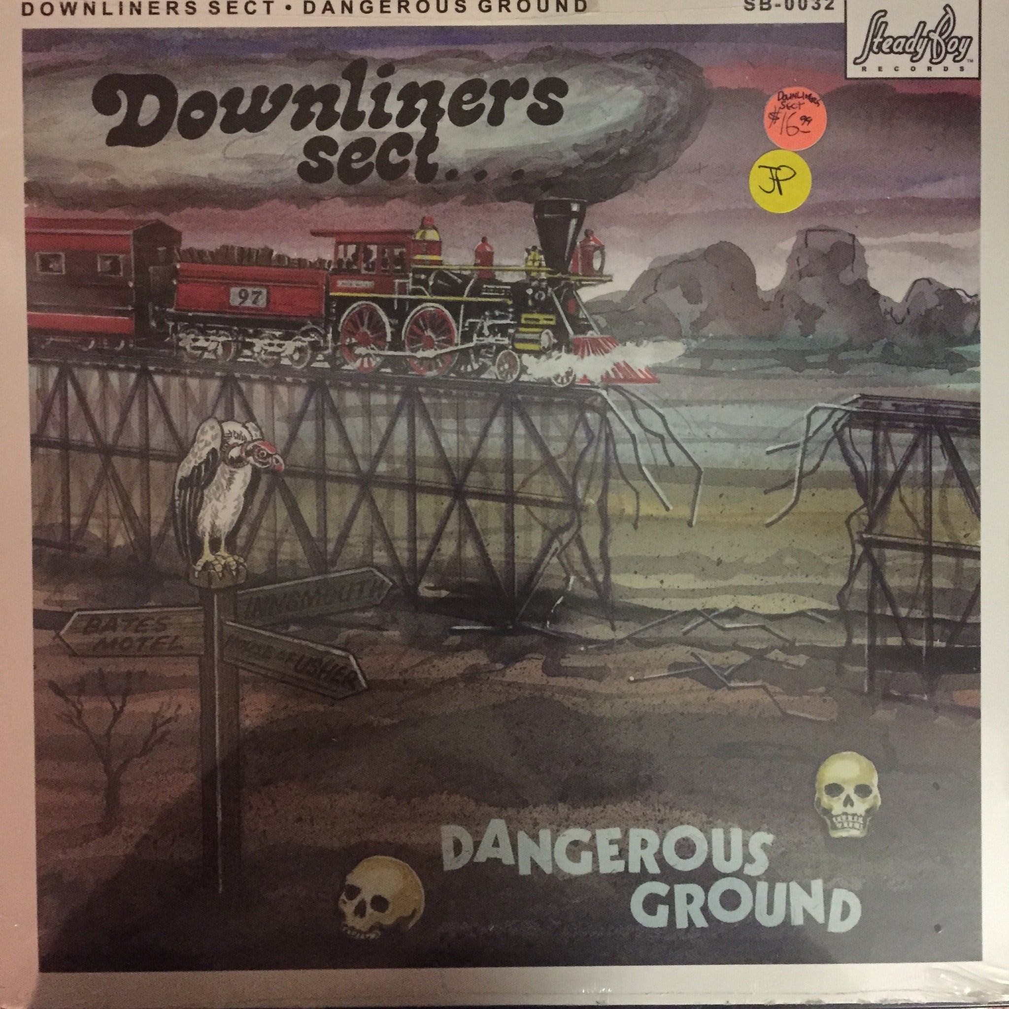 Downliners Sect - Dangerous Ground LP (SB-0032 - New and Sealed)