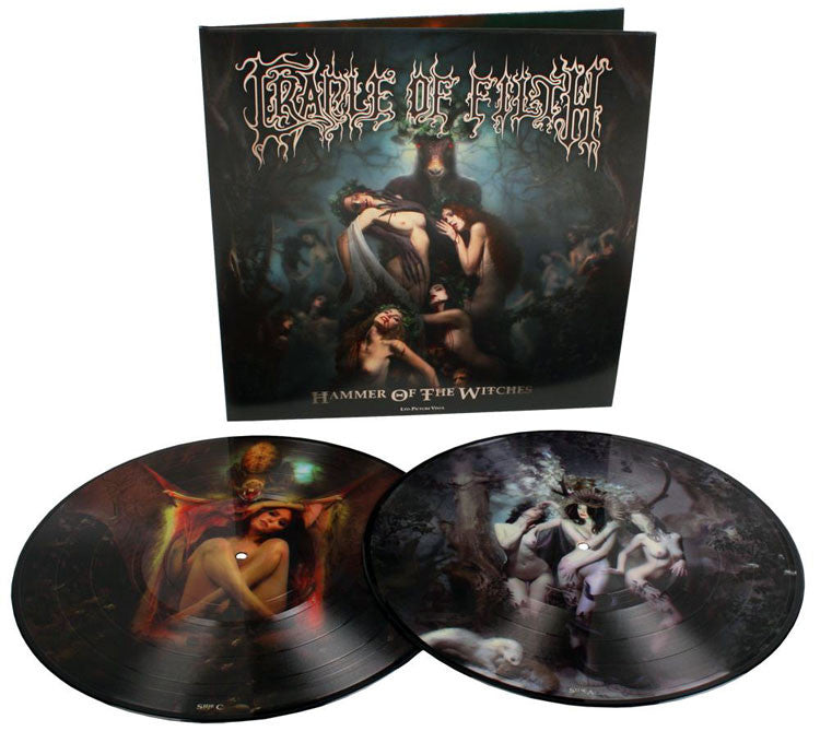 Cradle Of Filth - Hammer Of The Witches 2 x Pitcture Disc
