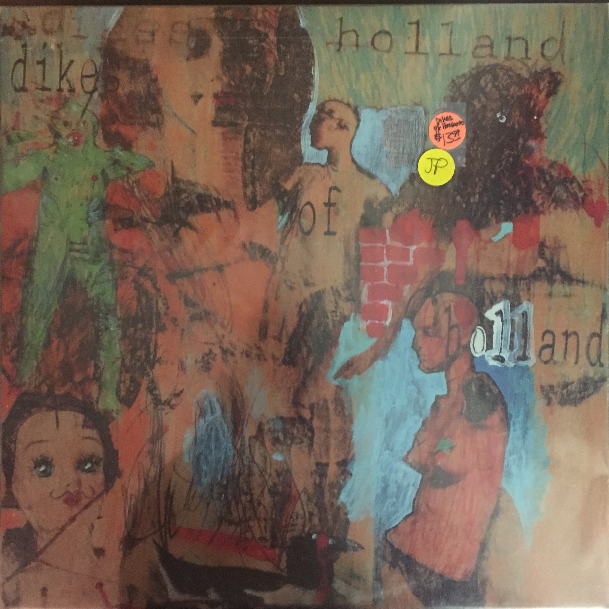 Dikes of Holland - Dikes of Holland LP (SR002-02 - New and Sealed)