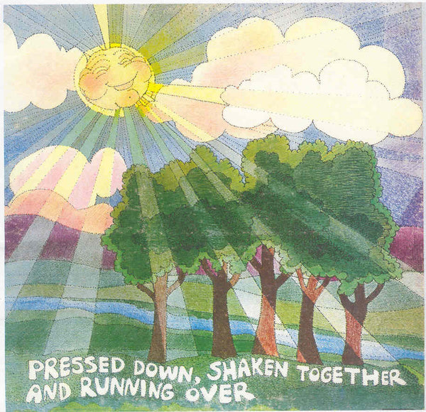 Pressed Down, Shaken Together, and Running Over - S/T LP