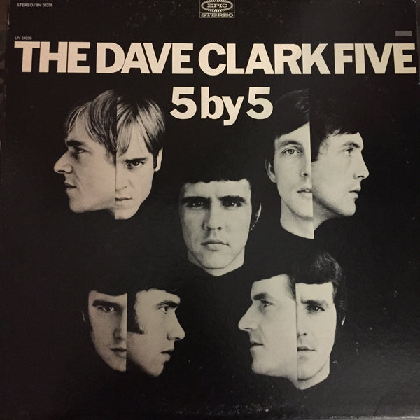 The Dave Clark Five - 5 by 5 LP (LN 24236)