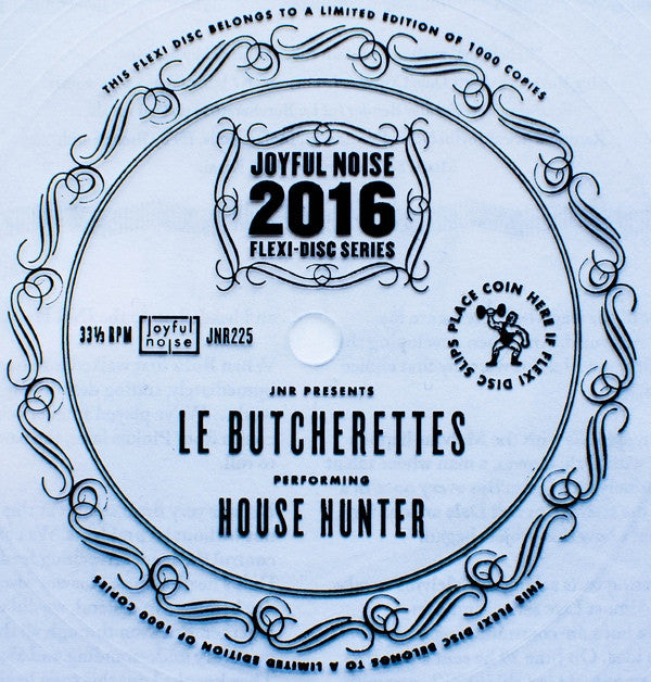 "Le Butcherettes - House Hunter 7"" Flexi"