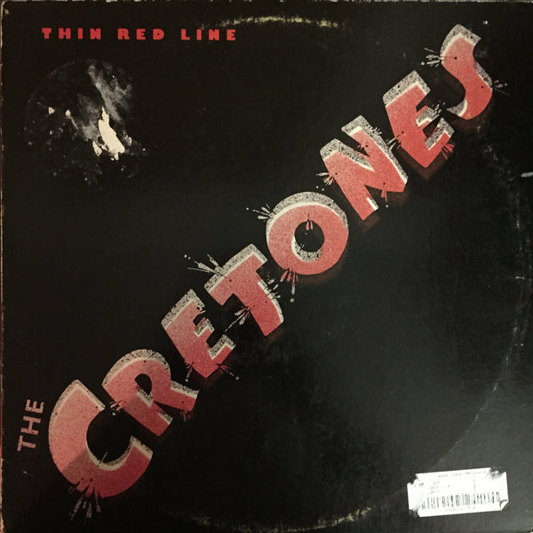 The Cretones - Thin Red Line LP (P-5)