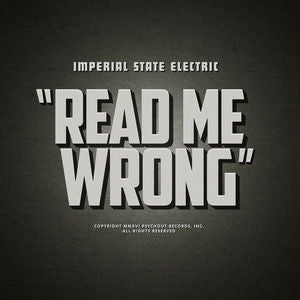 Imperial State Electric - Read Me Wrong 12""