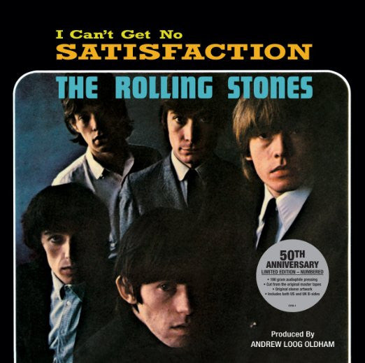 "The Rolling Stones - I Can't Get No Satisfaction 12"" Single (50th Anniversary Reissue)"