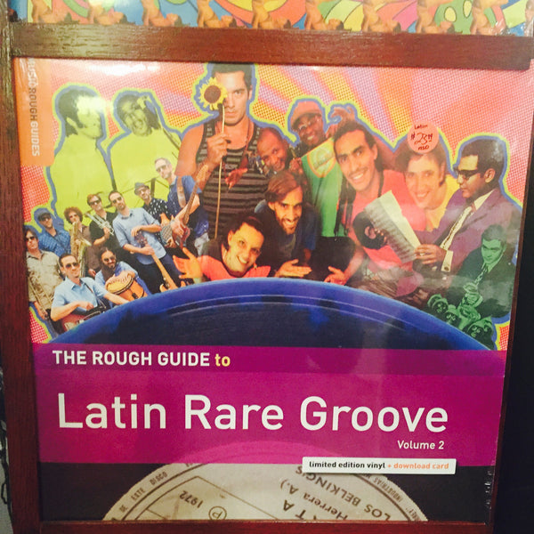 "VA - Rough Guide to Latin Rare Grooves Vol. 2 12"" LP (RSD 2015)"
